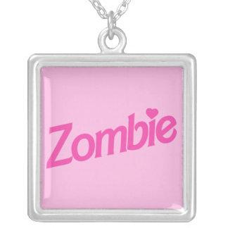 Zombie-Liebe Versilberte Kette