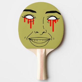 ZOMBIE-MÄDCHEN Klingeln Pong Paddel Tischtennis Schläger