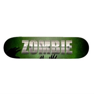 Zombie-Metalltext 19,1 Cm Old School Skateboard Deck