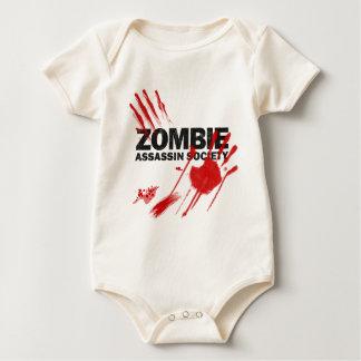 Zombie-Meuchelmörder-Gesellschaft Baby Strampler