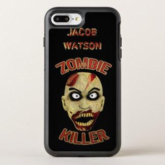 Zombie-Mörder-Namenschablone OtterBox Symmetry iPhone 8 Plus/7 Plus Hülle