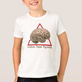 Zombie-Nahrungsmittelpyramide-T - Shirt