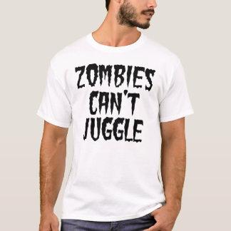 Zombie-Neigung jonglieren T-Shirt