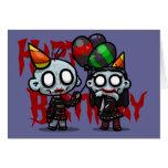 Zombie-Party-Gruß-Karte