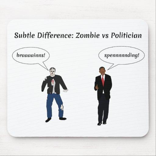 Zombie-Politiker Mousepads