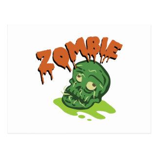 Zombie Postkarte