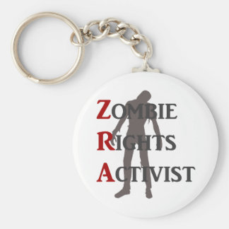 Zombie-Recht-Aktivist Schlüsselanhänger