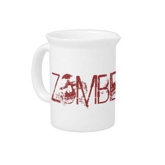 Zombie-Saft-lustige Halloween-Party-Stützen Getränke Pitcher
