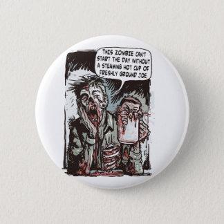 Zombie-Schale von Joe Runder Button 5,7 Cm