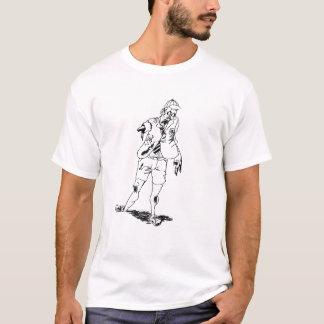 Zombie-Schülerdoppeltes T-Shirt
