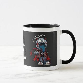 Zombie-Süßigkeits-Tasse Tasse