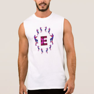 ZOMBIE Tanzen mit Alphabeten:  EEE Ärmelloses Shirt