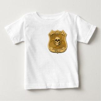 Zombie-Task Force - Kapitän Badge Baby T-shirt