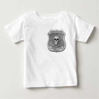 Zombie-Task Force - Sergeant Badge Baby T-shirt