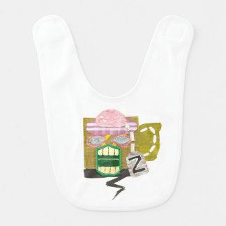 Zombie-Tassen-Schellfisch Lätzchen