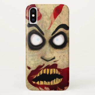 Zombie-Telefon iPhone X Hülle