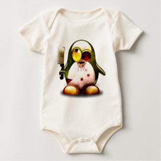 Zombie Tux (Linux Tux) Baby Strampler