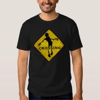 """ZOMBIE-ÜBERFAHRT"" T - Shirt"
