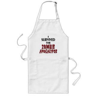 Zombie-Überlebender Lange Schürze