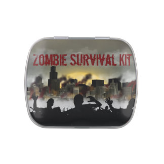 Zombie-Überlebensausrüstung Jelly Belly Dosen