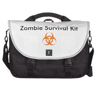 Zombie-Überlebensausrüstung Laptoptasche