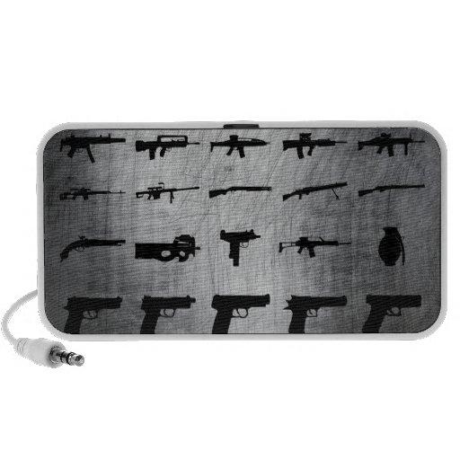 Zombie-Überlebensausrüstung Notebook Lautsprecher