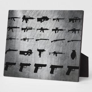 Zombie-Überlebensausrüstung Platten