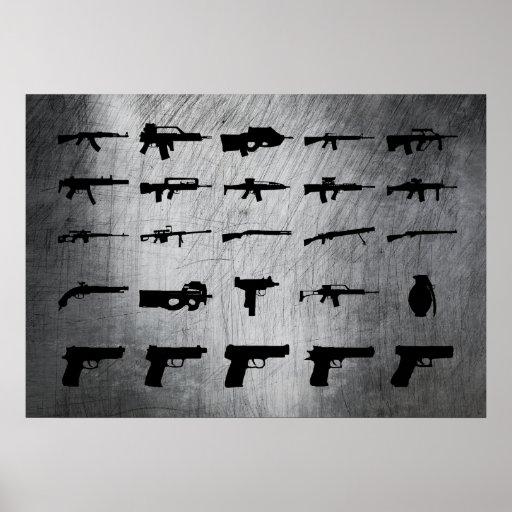 Zombie-Überlebensausrüstung Posterdrucke