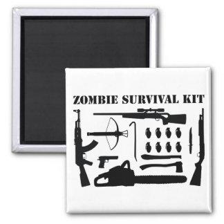 Zombie-Überlebensausrüstung Quadratischer Magnet