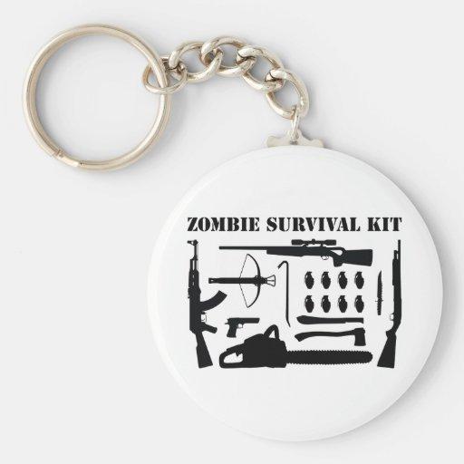 Zombie-Überlebensausrüstung Schlüsselbänder