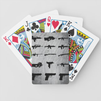 Zombie-Überlebensausrüstung Pokerkarten