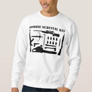 Zombie-Überlebensausrüstung Sweatshirt