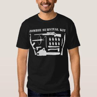 Zombie-Überlebensausrüstung T Shirt