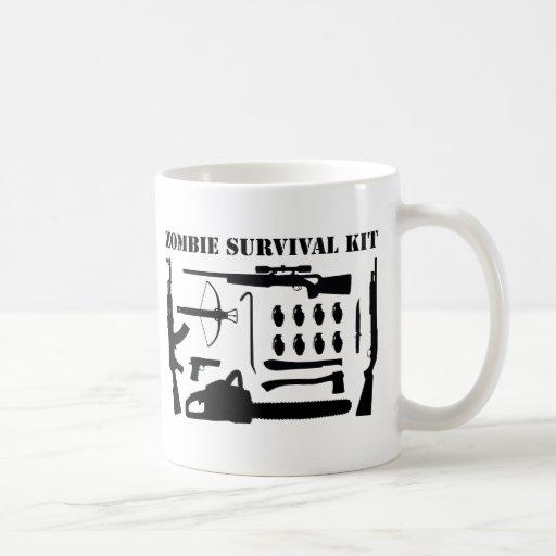 Zombie-Überlebensausrüstung Teetassen