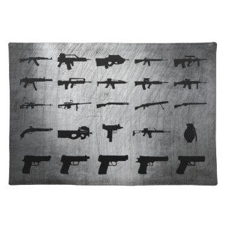 Zombie-Überlebensausrüstung Tisch Sets