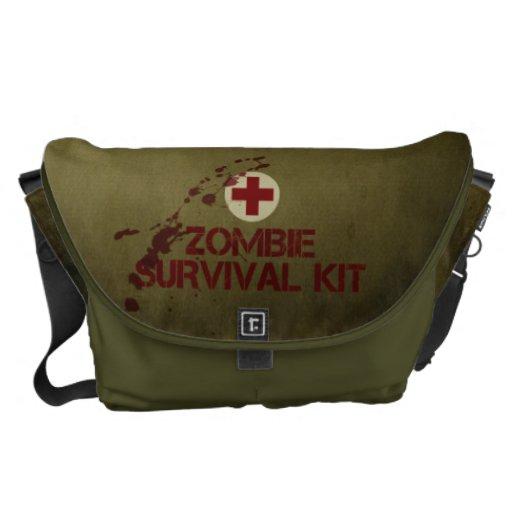 Zombie-Überlebensausrüstungs-Bote-Tasche Kuriertasche