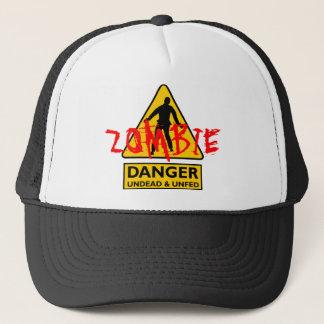 Zombie untot u. Unfed Truckerkappe