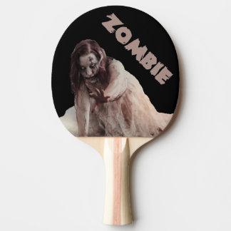 Zombie verheiratet tischtennis schläger