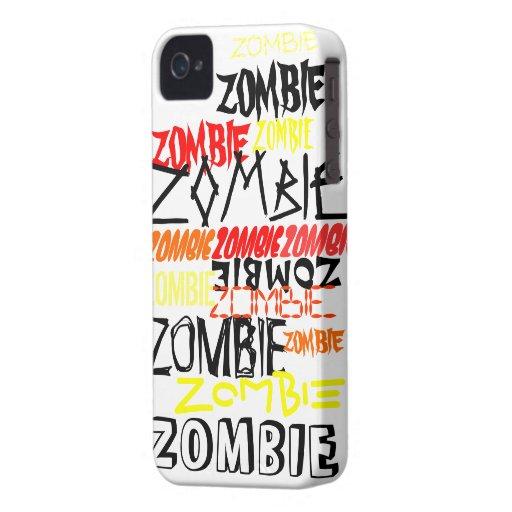 ZOMBIE-VERRÜCKTHEIT iPhone 4 Case-Mate HÜLLE