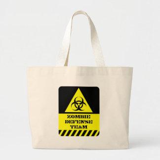 Zombie-Verteidigungsteam Einkaufstasche