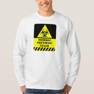 Zombie-Verteidigungsteam Tshirts