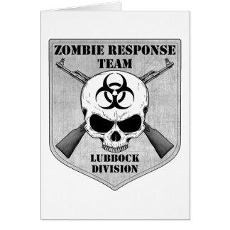 Zombie-Warteteam: Lubbock-Abteilung Karte