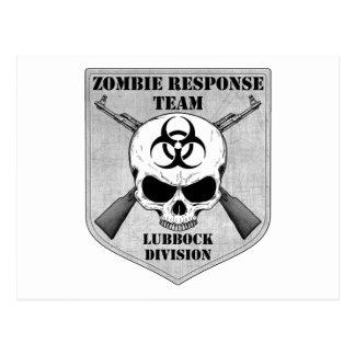 Zombie-Warteteam: Lubbock-Abteilung Postkarte