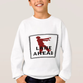 Zombie-Weg Sweatshirt