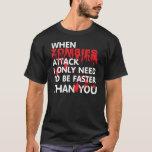 Zombieangriff T-Shirt