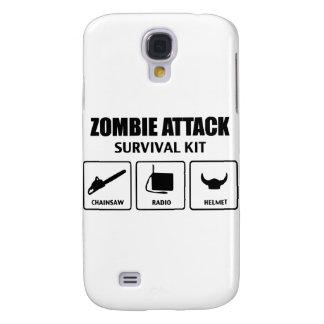 Zombieangriffs-Überlebensausrüstung Galaxy S4 Hülle