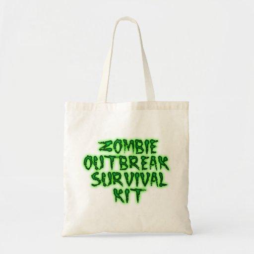 Zombieausbruch-Überlebensausrüstungs-Tasche