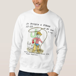 zombieCowboyWhite-300 Sweatshirt