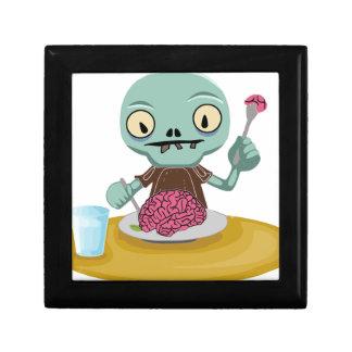 Zombiekind, das Gehirn isst Erinnerungskiste