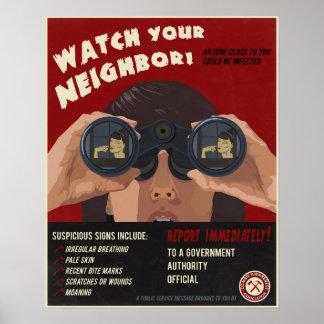 Zombiepropaganda Poster